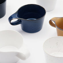 Load image into Gallery viewer, Stamug mini mug / Reactive Indigo Blue - miyama x metaphys