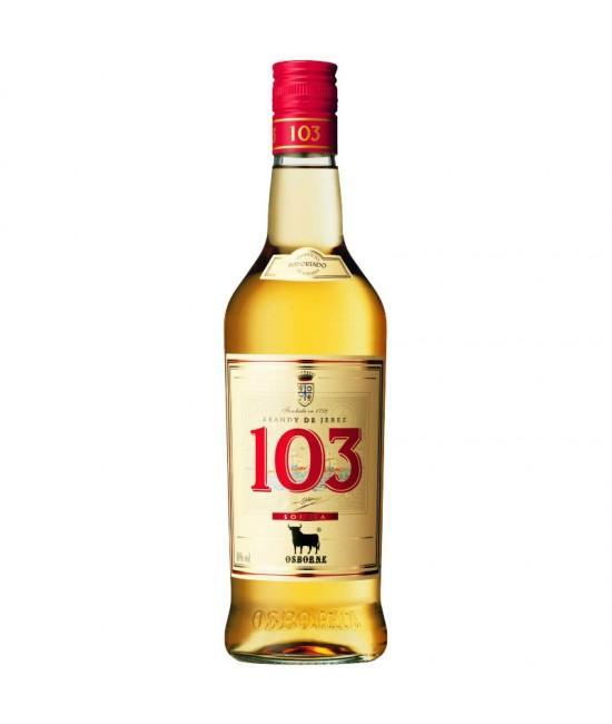 Brandy 103 Etiqueta Blanca 1000ml | bogar-wines.