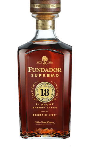 Brandy Fundador Supremo 18 años 1000ml | bogar-wines.