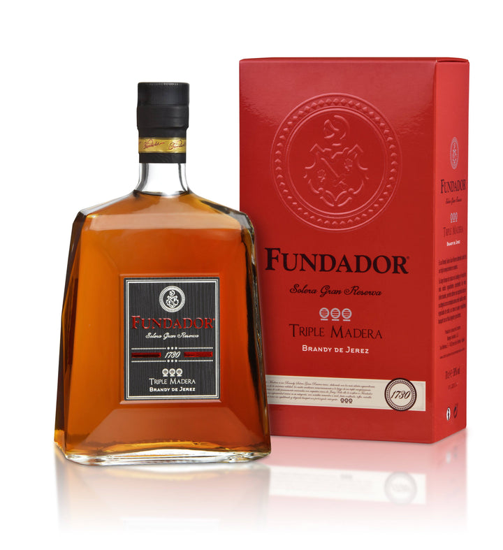 Brandy Fundador Triple Madera 700ml | bogar-wines.
