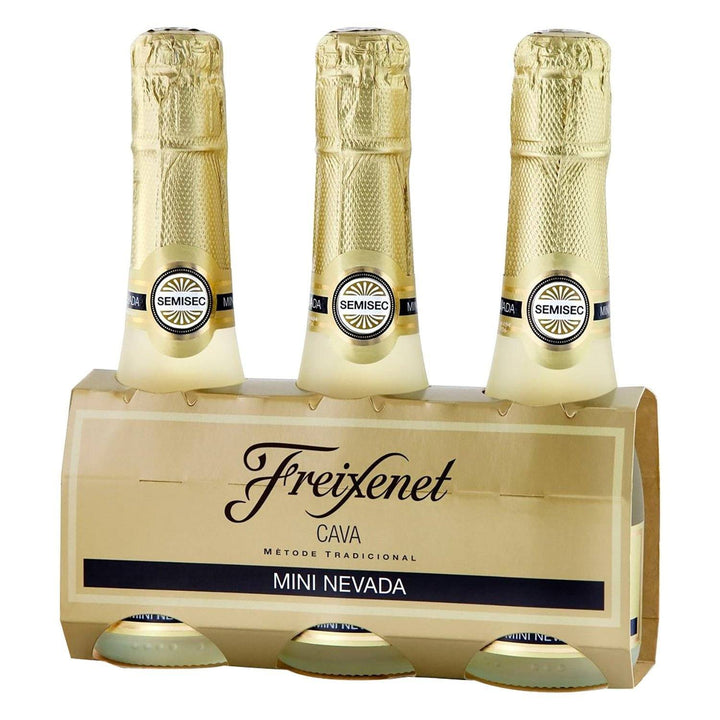 Cava Freixenet Mini Nevada 200ml Pack-3 | bogar-wines.