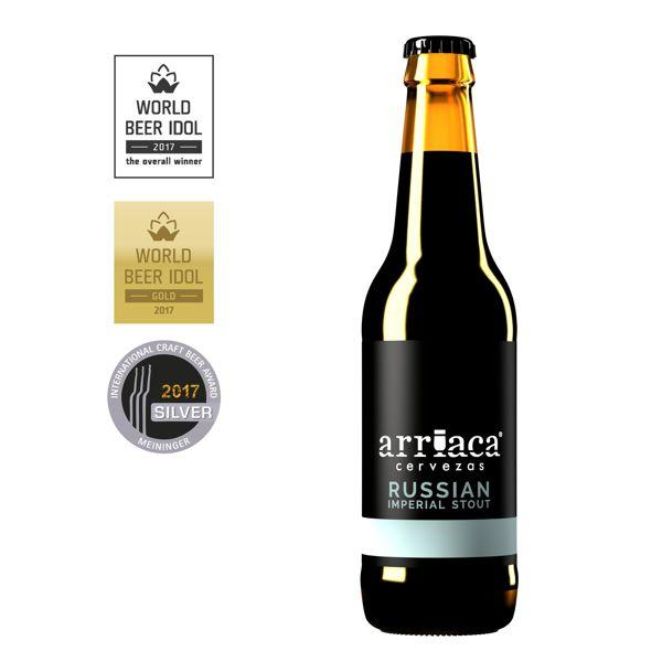 Cerveza Arriaca Russian Imperial Stout botella 330ml | bogar-wines.