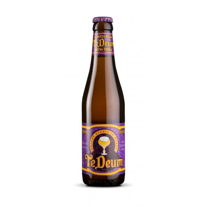 Cerveza Te Deum Tripel 330ml | bogar-wines.