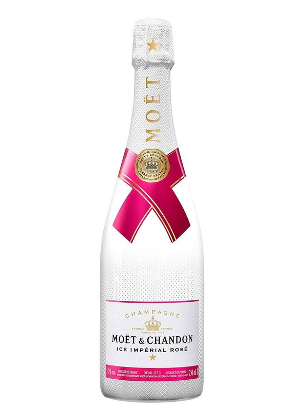 Champagne Moët&Chandon Ice Imperial Rosé 750ml | bogar-wines.