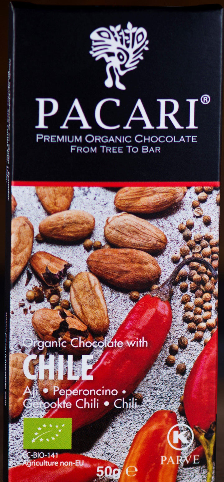 Chocolate Orgánico Pacari Chile 50g | bogar-wines.