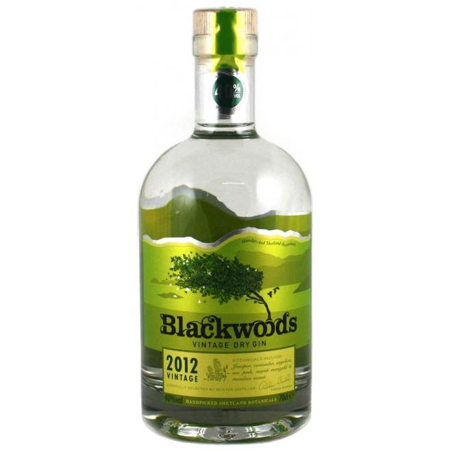 Ginebra Blackwoods Vintage 700ml Ginebra Bogar Wines