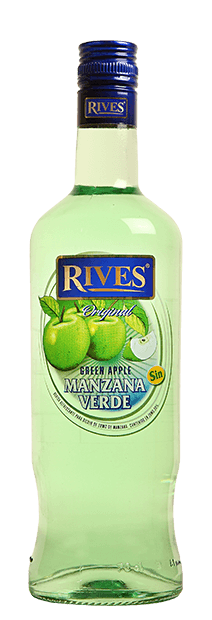 Manzana Verde Rives Sin Alcohol 1000ml | bogar-wines.