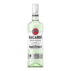 Ron Bacardi Blanco Superior 1000ml