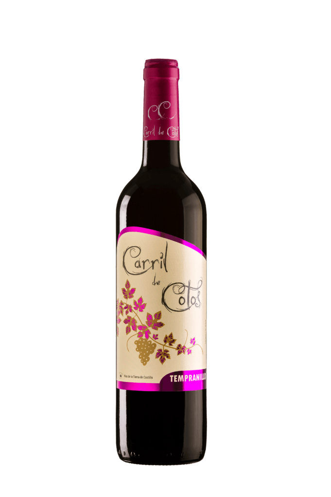 Vino Carril de Cotos Tempranillo 750ml | bogar-wines.