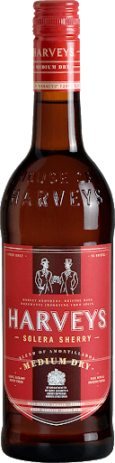 Vino Harveys Medium Dry 750ml | bogar-wines.