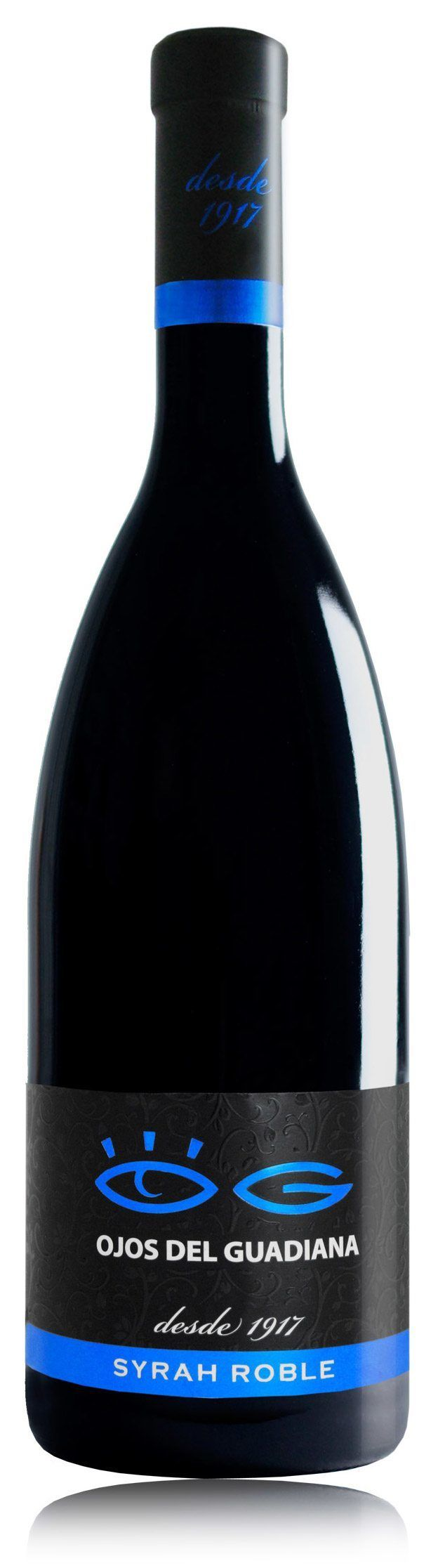 Vino Ojos del Guadiana Syrah Roble 750ml | bogar-wines.