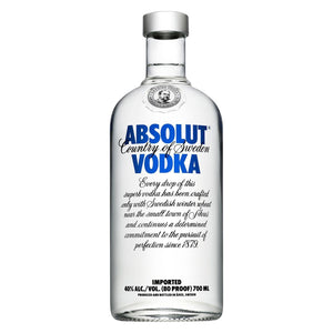 Vodka Absolut 700ml | bogar-wines.