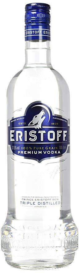 Vodka Eristoff 1000ml | bogar-wines.