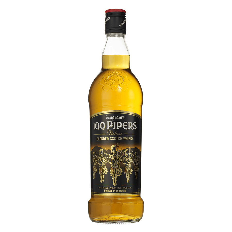 Whisky 100 Pipers 700ml Whisky Bogar Wines
