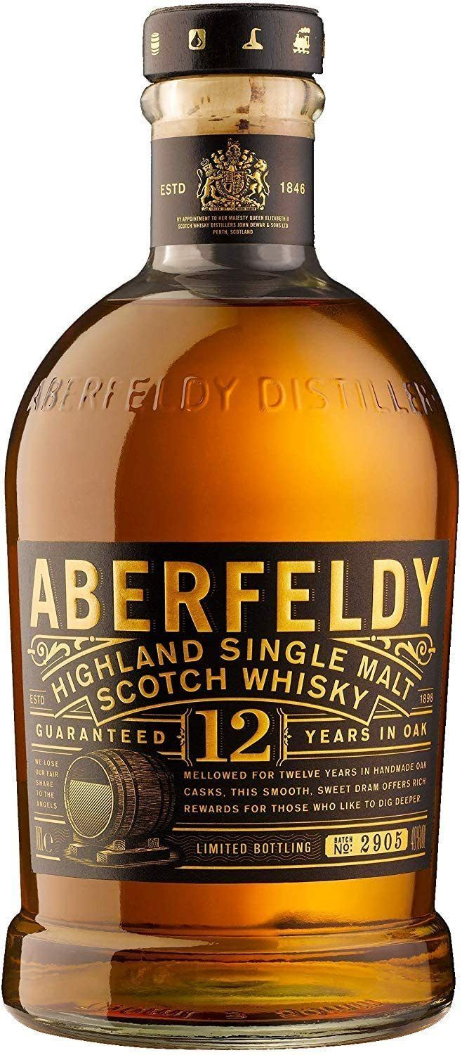 Whisky Aberfeldy 12 años 700ml | bogar-wines.
