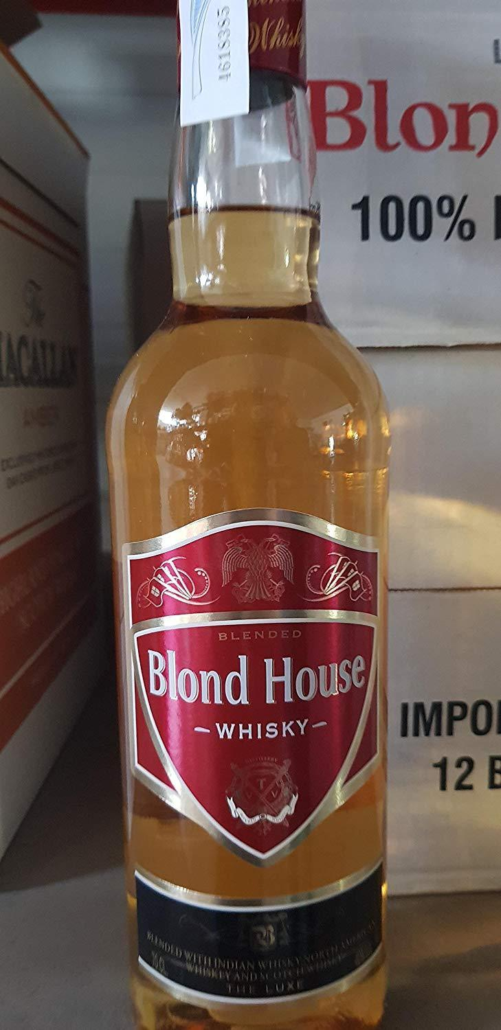 Whisky Blond House 700ml | bogar-wines.