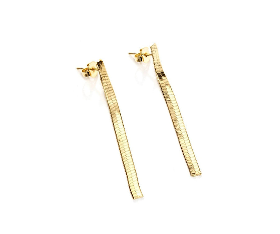 Viper Drop Earrings