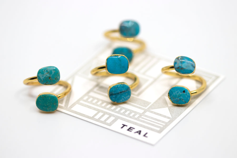 Stacked Turquoise Ring