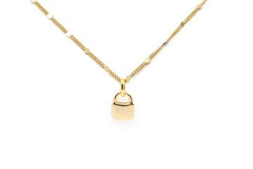 Harlow Lock Necklace