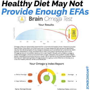Critical Biomarker Omega-3 Index Not Increased by Healthy Eating