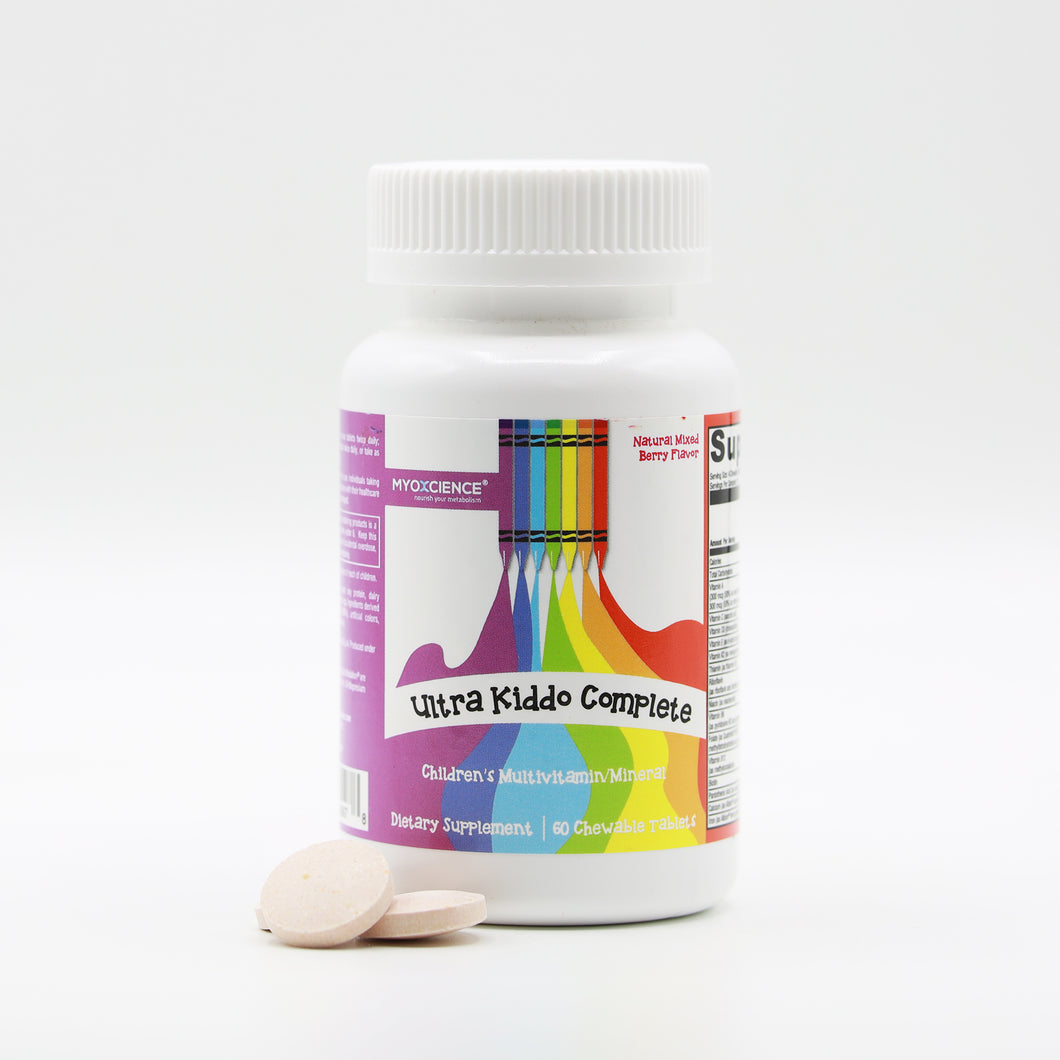 Ultra Kiddo Complete Chewable Multivitamin & Mineral Blend
