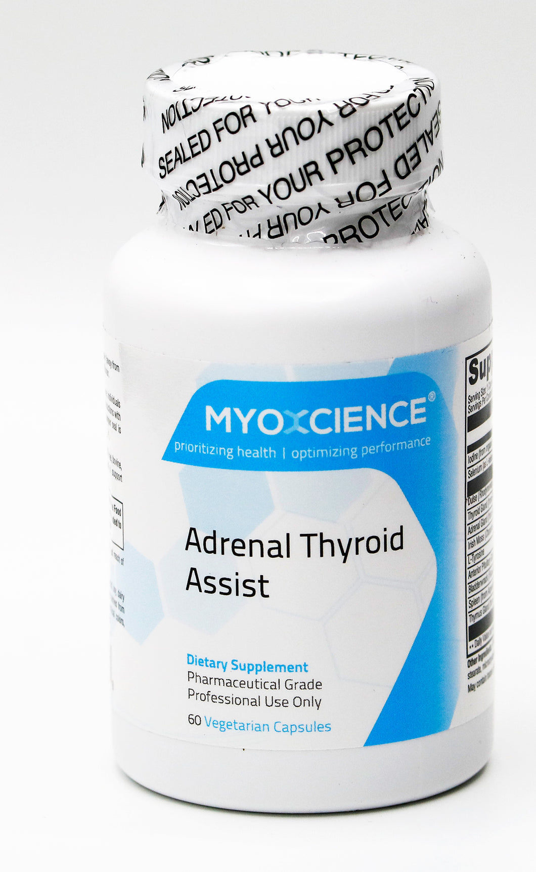 Adrenal Thyroid Assist | Comprehensive Glandular Adrenal and Thyroid Function