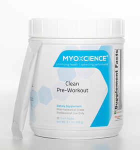 Clean Pre-Workout | Featuring Purenergy that combines caffeine and pTeroPure® pterostilbene.