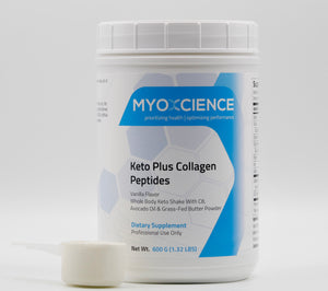Keto Plus Optimized Collagen Peptides | C8 MCT and Collagen Peptides