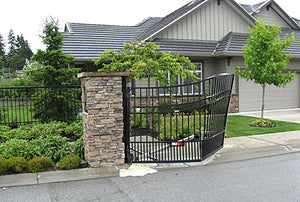 How do warranties work when I buy an electric gate