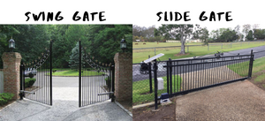 Should I Choose a Swing Gate or a Sliding Gate?