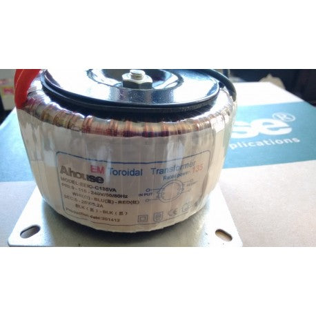 Transformer 240v to 24v with mounting plate for Gatehouse swing motor