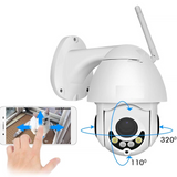 1080p Mini WIFI IP PTZ Security Camera