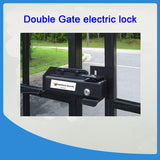 Double or single electronic gate lock 24v