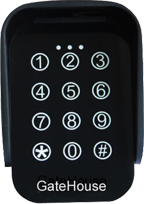 Wireless keypad: Long Range up to 30-40m
