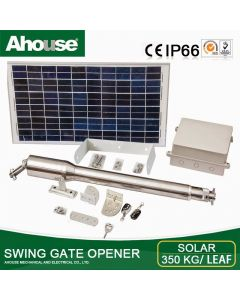 Ahouse single solar gate kit: Up to 4 meters/gate DT3+