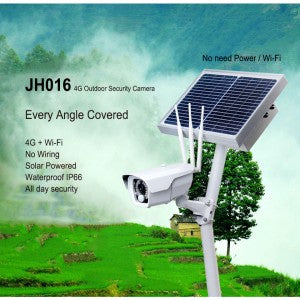 4G Security Camera, Solar Powered