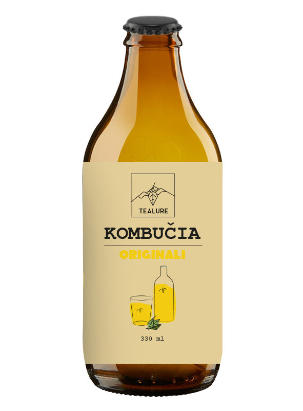 Kombucha TEALURE originali, 330ml