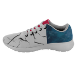 Blue & Marble Unisex Running Shoes