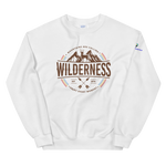 Wilderness Badge Unisex Sweatshirt