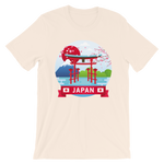 Japan Print Short-Sleeve Unisex T-Shirt