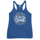 It's Time to Travel Women's Racerback Tank