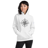 Wind Rose Unisex Hooded Sweatshirt
