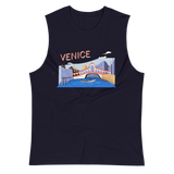 Muscle Shirt with Venice Print