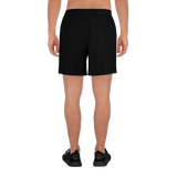 Basic Men's Athletic Long Black Shorts
