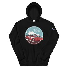 Load image into Gallery viewer, Time to Travel Unisex Hooded Sweatshirt