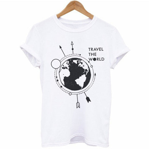 Travel The World Women T-Shirt