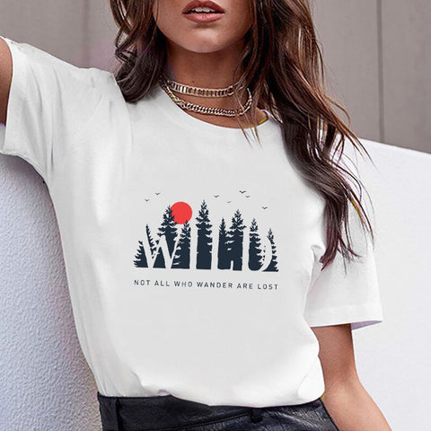 Not All Who Wander Are Lost Women T-shirt