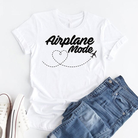 Airplane Mode Women T-shirt