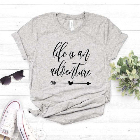Life Is An Adventure Women T-shirt