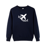 Let's Travel Slogan Unisex Sweatshirts